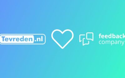 Persbericht: Feedback Company en Tevreden.nl bundelen krachten