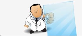 Bezoek Dokter Plexiglas